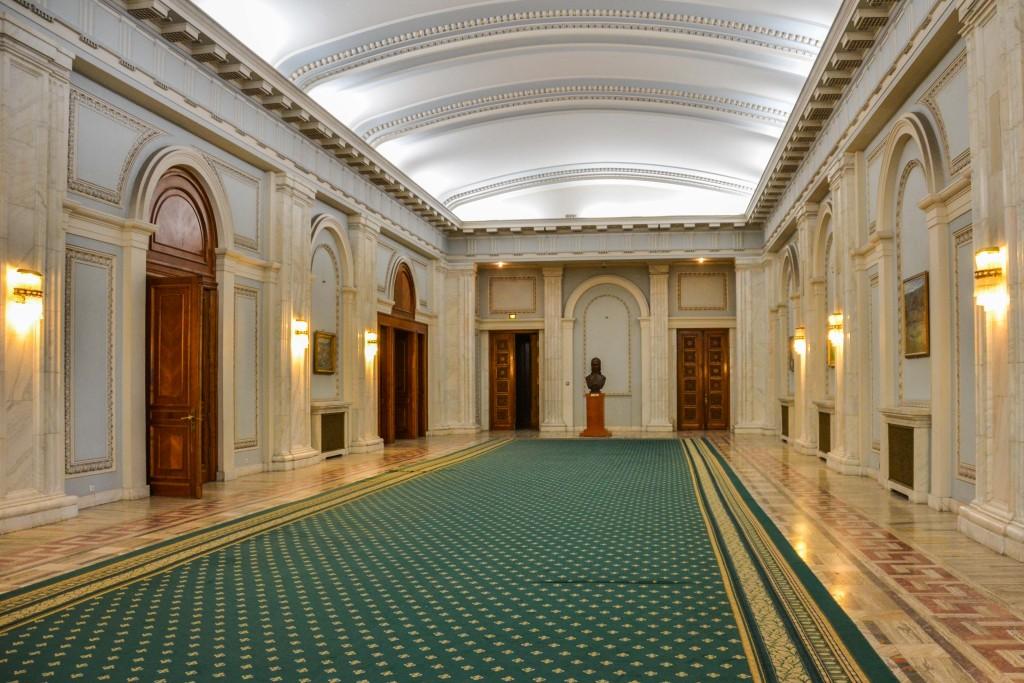 Inside Parliament Bucharest