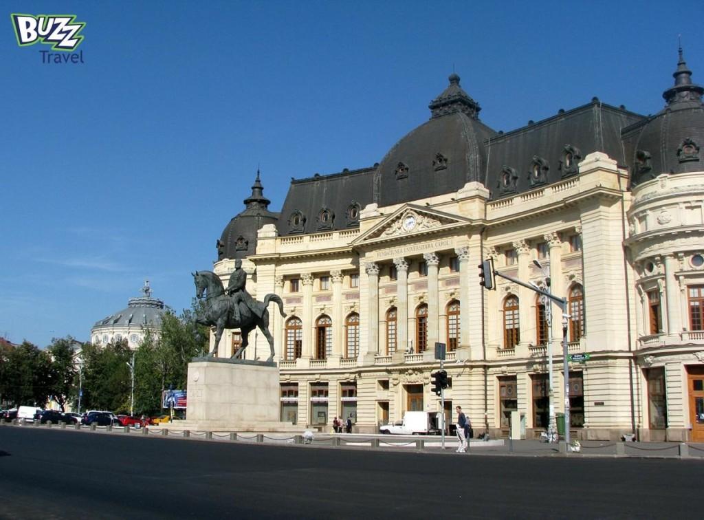 Bucharest Victory Avenue