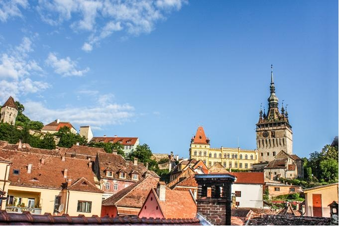 Sighisoara city view