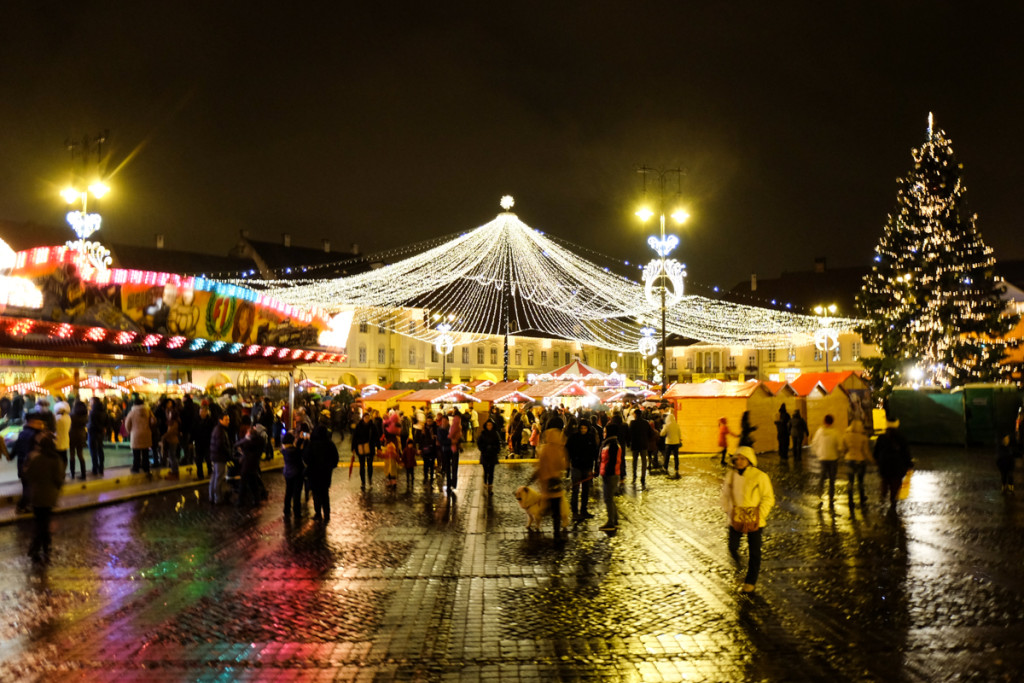Christmas Fair in Sibiu
