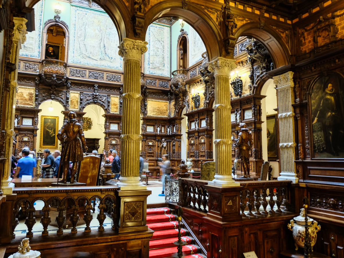 Modern Home Design Blog Peles Castle Former Home Of The Romanian Royal Family