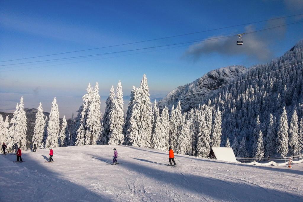 Ski in Poiana Brasov Romania