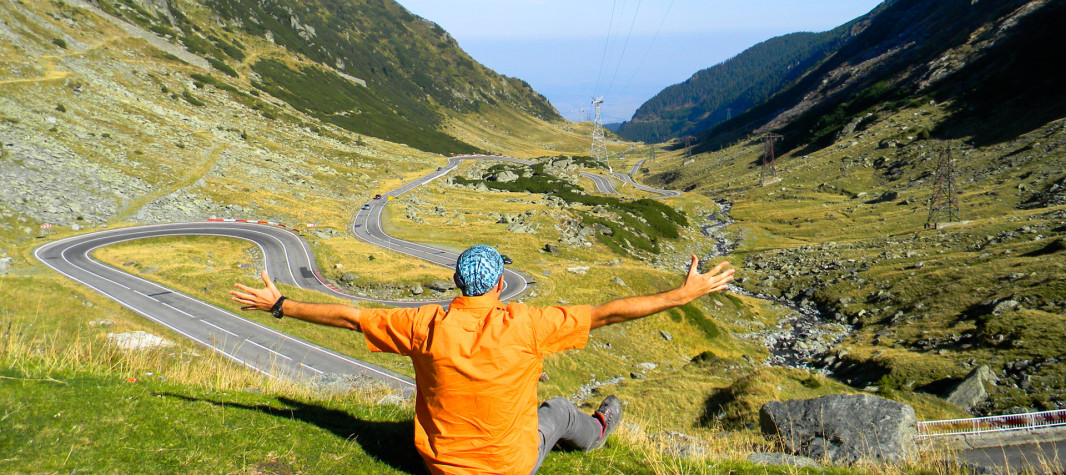 Best scenic road Romania