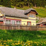 Bukovina houses Romania