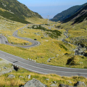 Carpathians scenic road