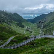 Carpathians scenic road