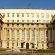 Central Comittee Buildig Bucharest