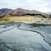 Mud vulcanoes winter
