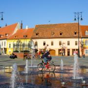 Piata Sibiu Transylvania