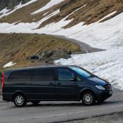 Scenic drive Carpathians