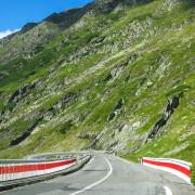 Scenic drive Romania