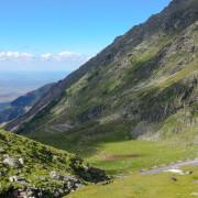 Scenic road Romania