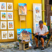 Sighisoara street art