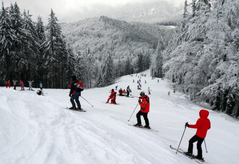 Ski holiday Romania