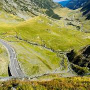 Transfagarasan scenic road