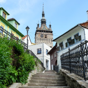 Transylvania medieval city