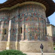 chiese dipinte Romania