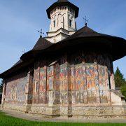 Bukovina painted church