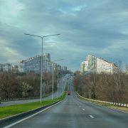 Chisinau gates of the town