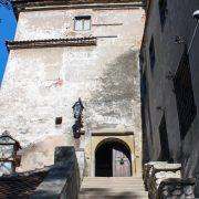 Bran Castle Entrance