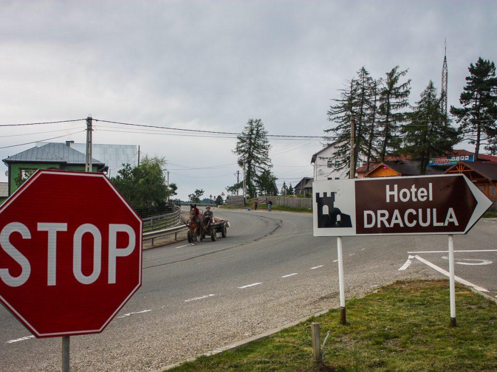 Dracula sign