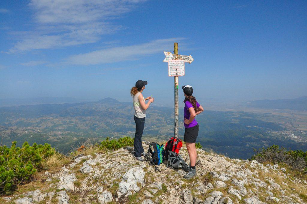 Trekking in Romania