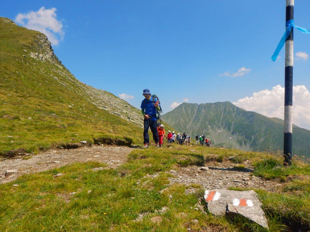 Trekking tour Romania
