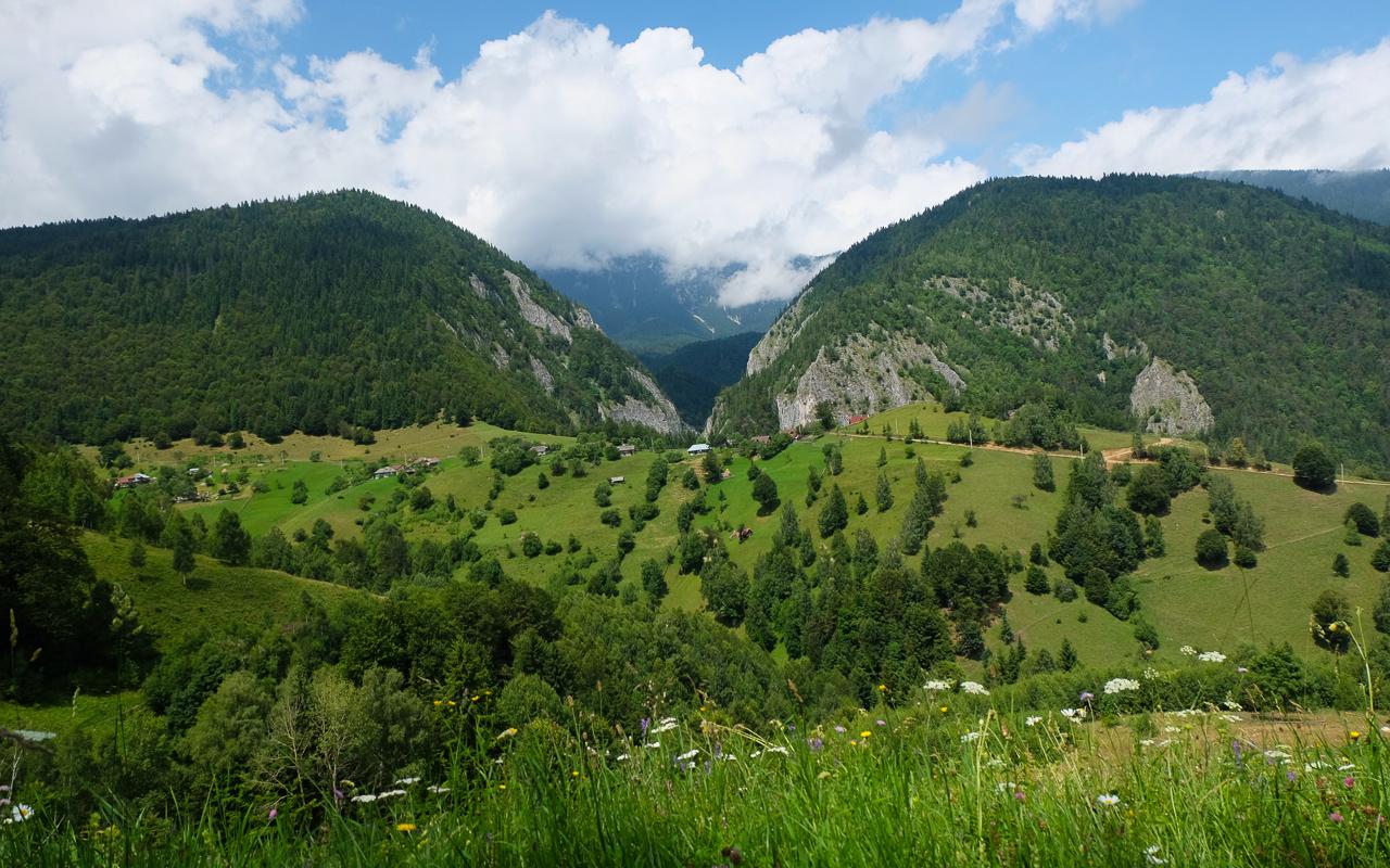 Magura village Carpathians