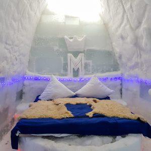 book ice hotel